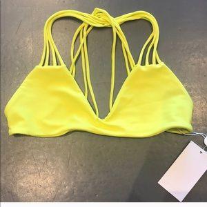 Mikoh Lilikoi Bikini Top